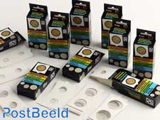 Coinholders assorted (25 pcs / 10 different sizes)