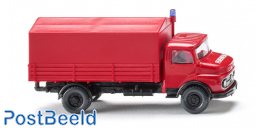 Fire service - Flatbed truck (MB short nose)