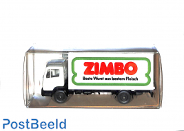 """Mercedes Benz 814 """"Zimbo meat products"""""""