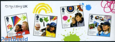 100 Years Girl Guides in UK s/s
