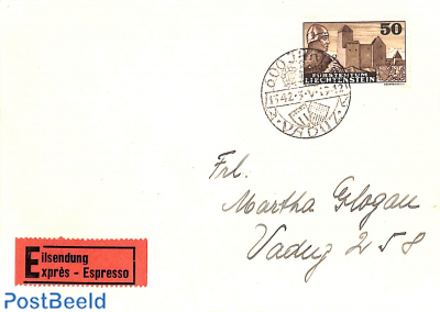 Express mail with Mi. No. 164