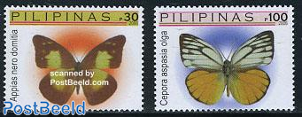 Definitives, butterflies 2v