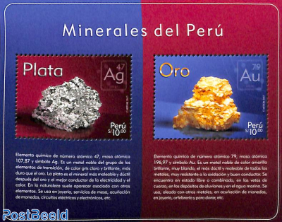 Minerals, Silver/gold s/s