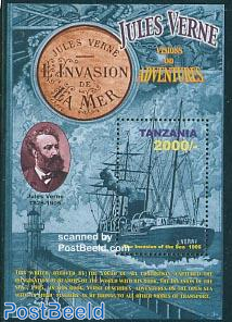 Jules Verne s/s, Invasion of the sea