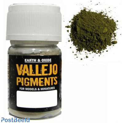 Vallejo pigments chrome oxide green