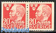 Alfred Nobel booklet pair