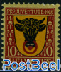 10c, Stamp out of set