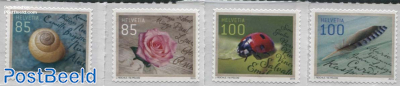 Greeting Stamps 4v s-a